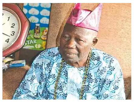Olubadan of Ibadan Oba Saliu