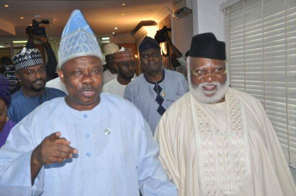 Image result for abdulsalami abubakar and Amosun
